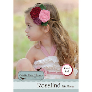 Rosalind Pink Felt Flower Kit