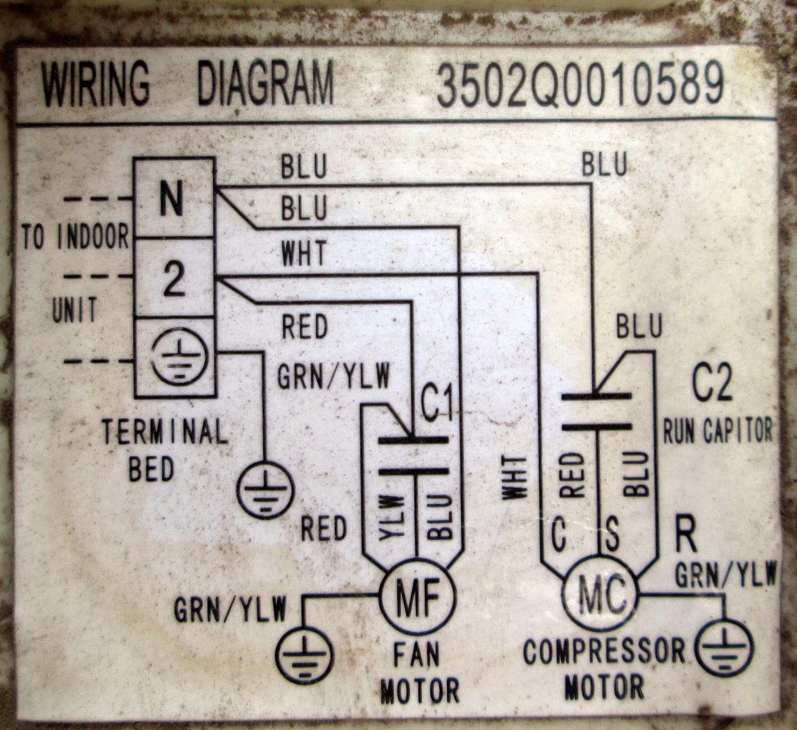 Wiring diagram ac split sharp service ac kota serang baru diagram kelistrikan ac split cheapraybanclubmaster Image collections