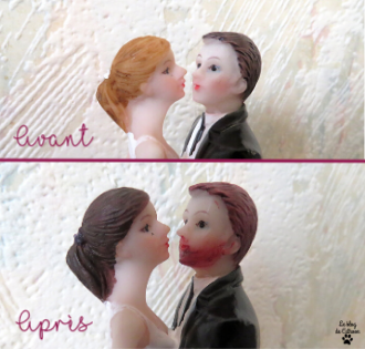 Customiser sa figurine de mariage