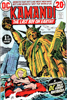 Kamandi v1 #1 dc 1970s bronze age comic book cover art by Jack Kirby