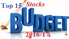 Image:Top_Stocks_focus_ahead_Budget 2016_budget_shares_good_return_hot_stocks_quick_gain