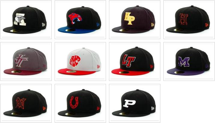 Embroidery   Fitteds  High School New Era by Lids f8e508f1af1