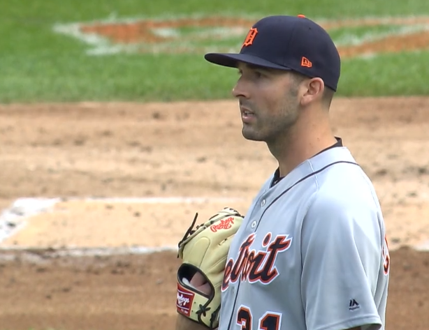 Ryan Carpenter stunned after being called for balk on consecutive pitches