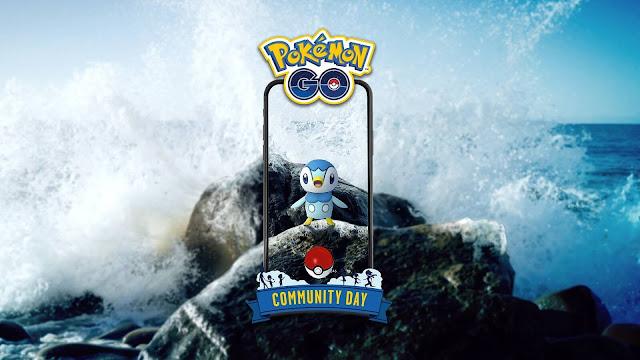Piplup Dia Comunitário Pokémon GO