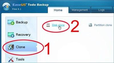 O EaseUS Todo Backup Free, além de gratuito é fácil de usar