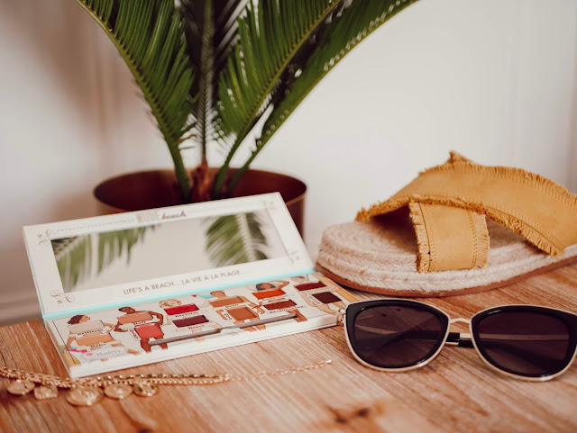 The Balm : Nude Beach, revue et swatchs