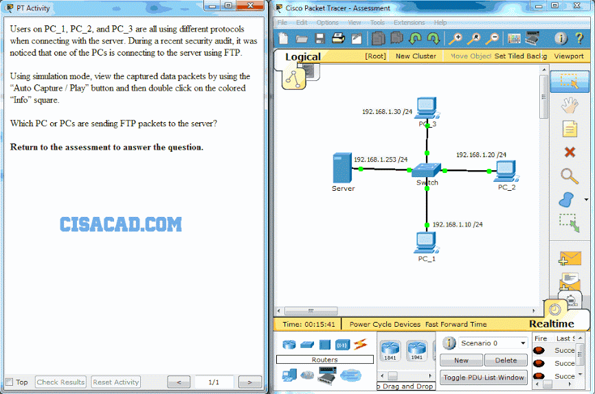 CCNA 1 v6.0 ITN Chapter 10 Exam q24