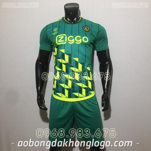 Áo  CLB Ajax training màu xanh 2020