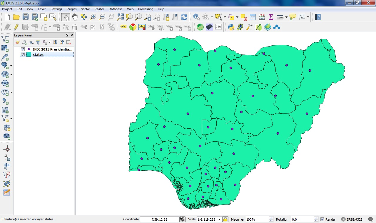 Geospatial Solutions Expert Spatial Analysis Of Nigeria 2015 - 2015-us-election-results-map