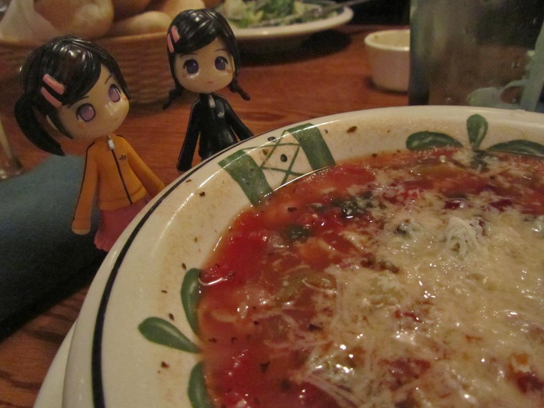 Little Nunu\'s Olive Garden Adventure