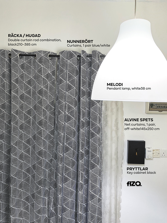 Minimalist Dekorasi perabot IKEA Ruang Tamu