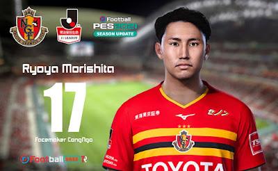 PES 2021 Faces Ryoya Morishita by CongNgo