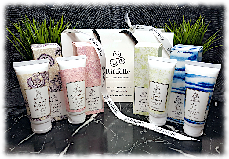 Urban Rituelle Seaside Story collection with boxes