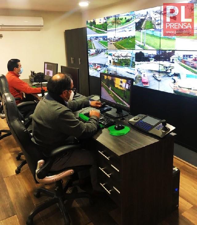 Osorno: 34  nuevas cámaras de televigilancia