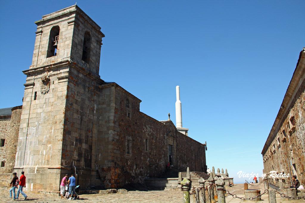 Iglesia del Santuario de la Peña de Francia