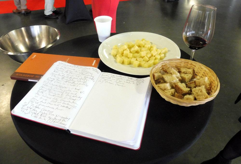 La dégustation du Week-end des Grands Crus, ça vaut le coup (le coût ? ha ha !), à la votre ! Par Lili LaRochelle