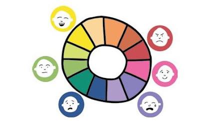 Warna melambangkan emosi