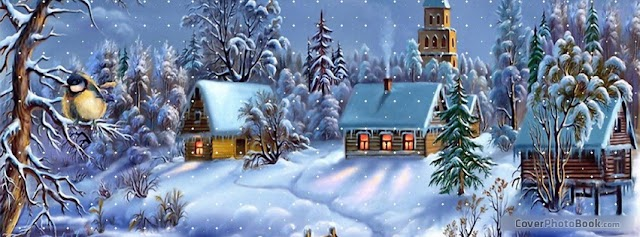 Merry Christmas Face Book Cover Images