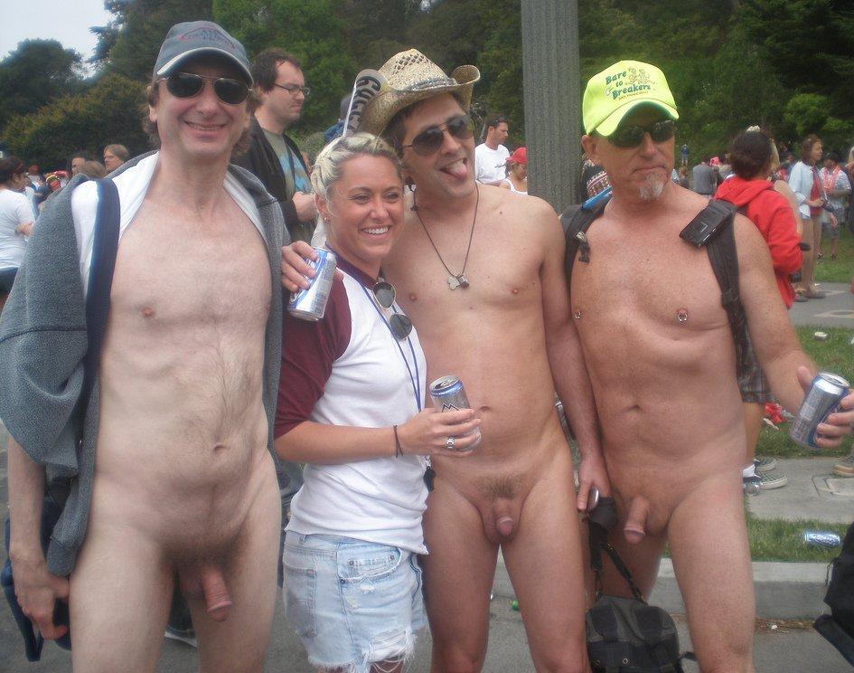 Фото с голым мужиком на улице — 15