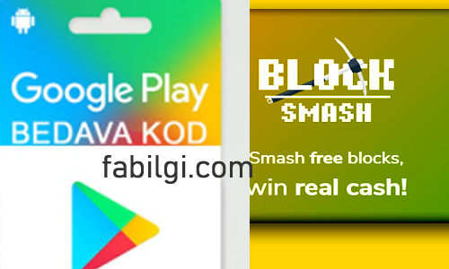 Bedava Google Play Kod Alma Sitesi Blocksmash 2021