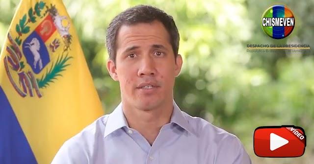 Guaidó envía un video de agradecimiento por haber ido a la Consulta