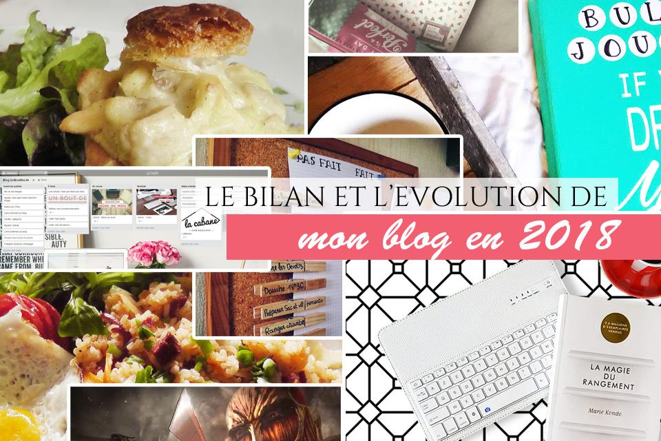 bilan blog 2017 et évolution 2018