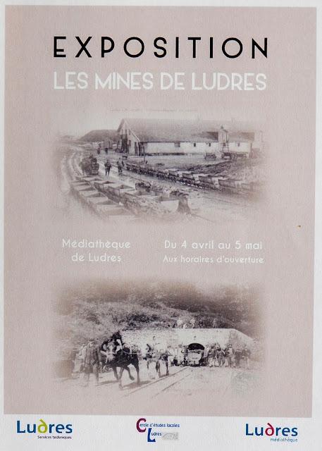 "LUDRES (54) - Exposition ""Les mines de Ludres"" (4  avril - 5 mai 2018)"