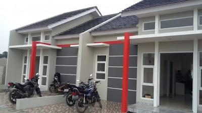 Rumah Murah Setu Non Subsidi Perumahan Cluster D'Green Biduri Bekasi