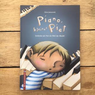 Musikbuch Musikgrundlagen Kinderbuch Bilderbuch Piano kleiner Piet
