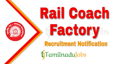 RCF Recruitment notification 2019, Govt jobs for ITI