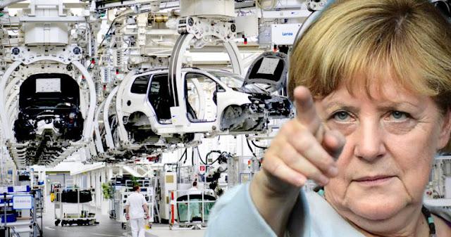 Η Γερμανία εξάγει ύφεση και οδηγεί σε σύγκρουση