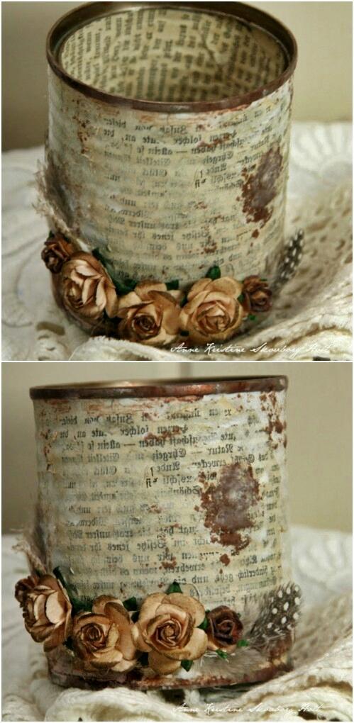 art recycling z puszek