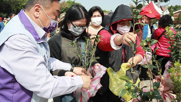 員林市公所響應312植樹節 4千株樹苗免費索取