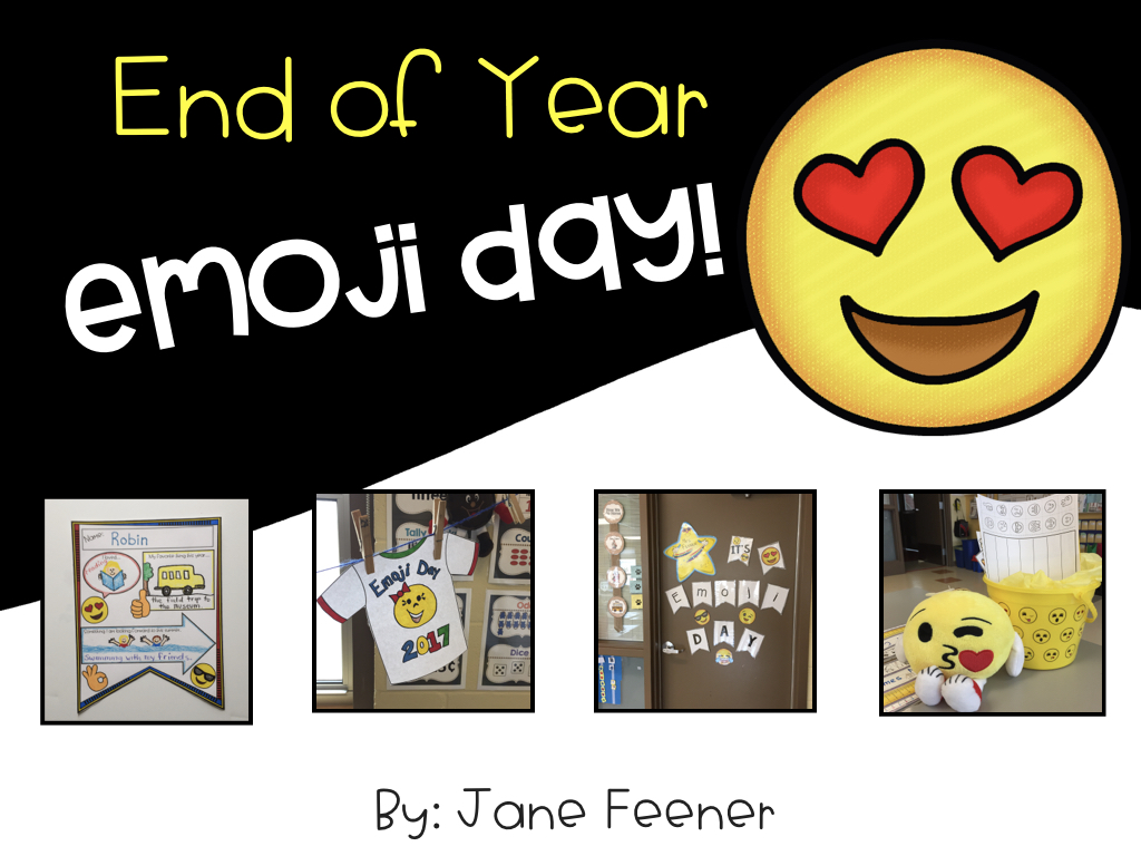 Who's Who and Who's New: End of Year Emoji Day