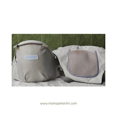 review hipseat MOOIMOM