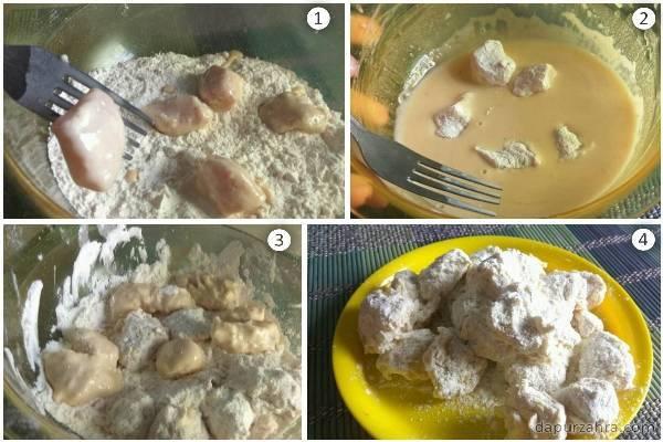 resep ayam crispy saus asam manis sederhana