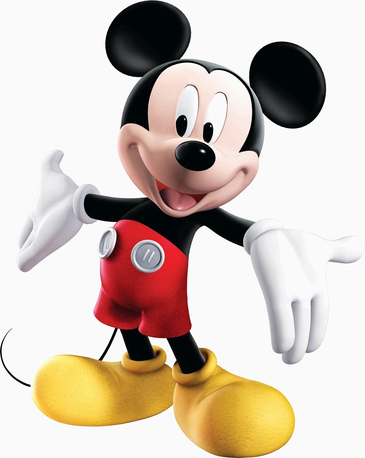Winnie Pooh Y Mickey Mouse En Psd