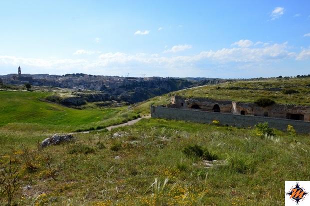 Matera, Parco della Murgia Materana. San Falcione