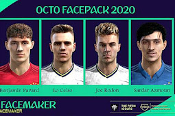 Octo Facepack 2020 - PES 2013