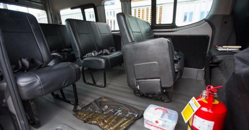 Cerca de 4 mil vehículos están autorizados para hacer movilidad escolar en Lima, informó la Gerencia de Transporte Urbano (GTU)