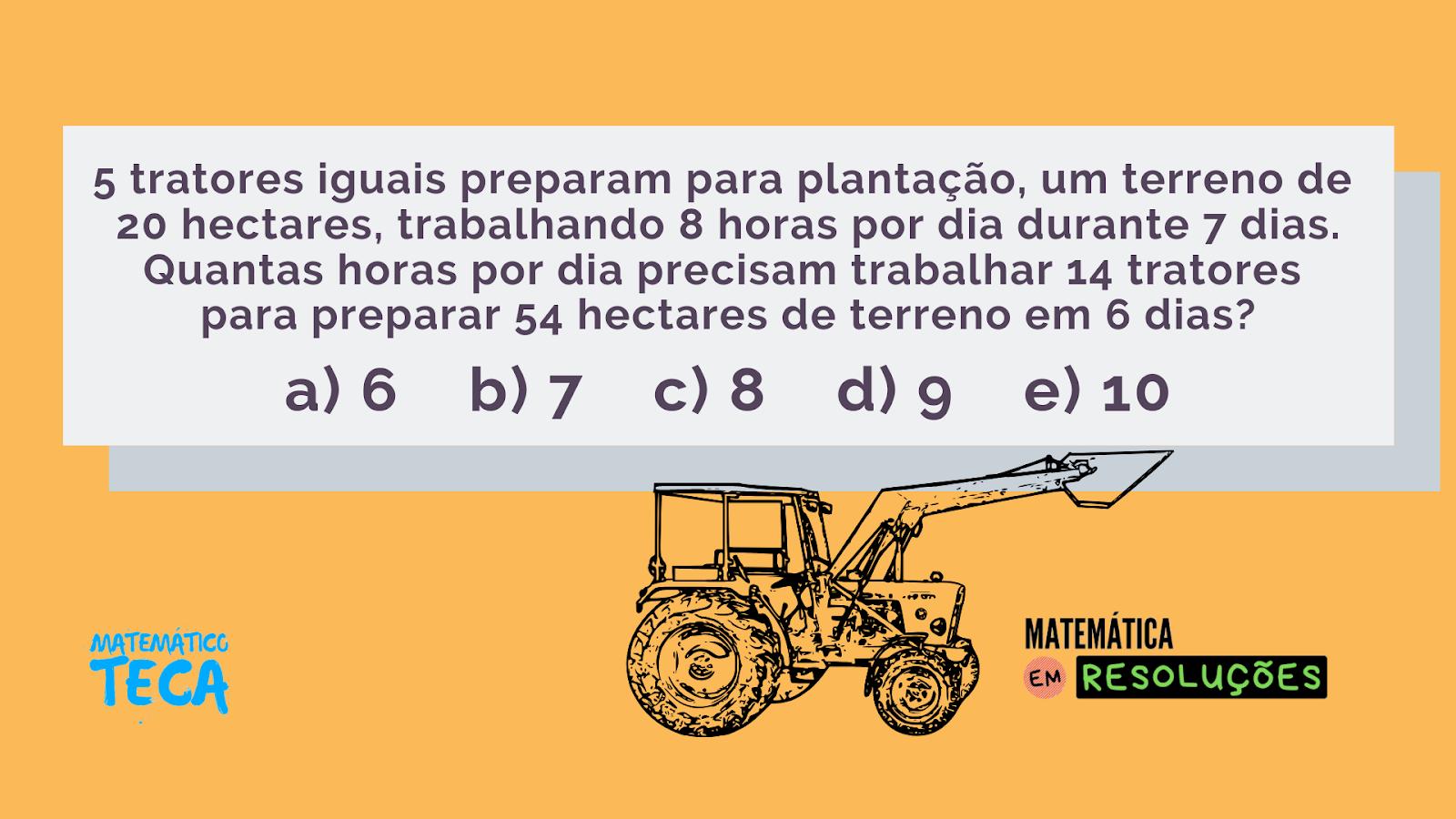 Regra de Três Composta | Matemática em Resoluções