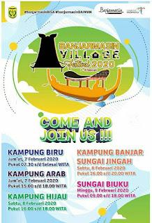 Banjarmasin Village Festival 2020