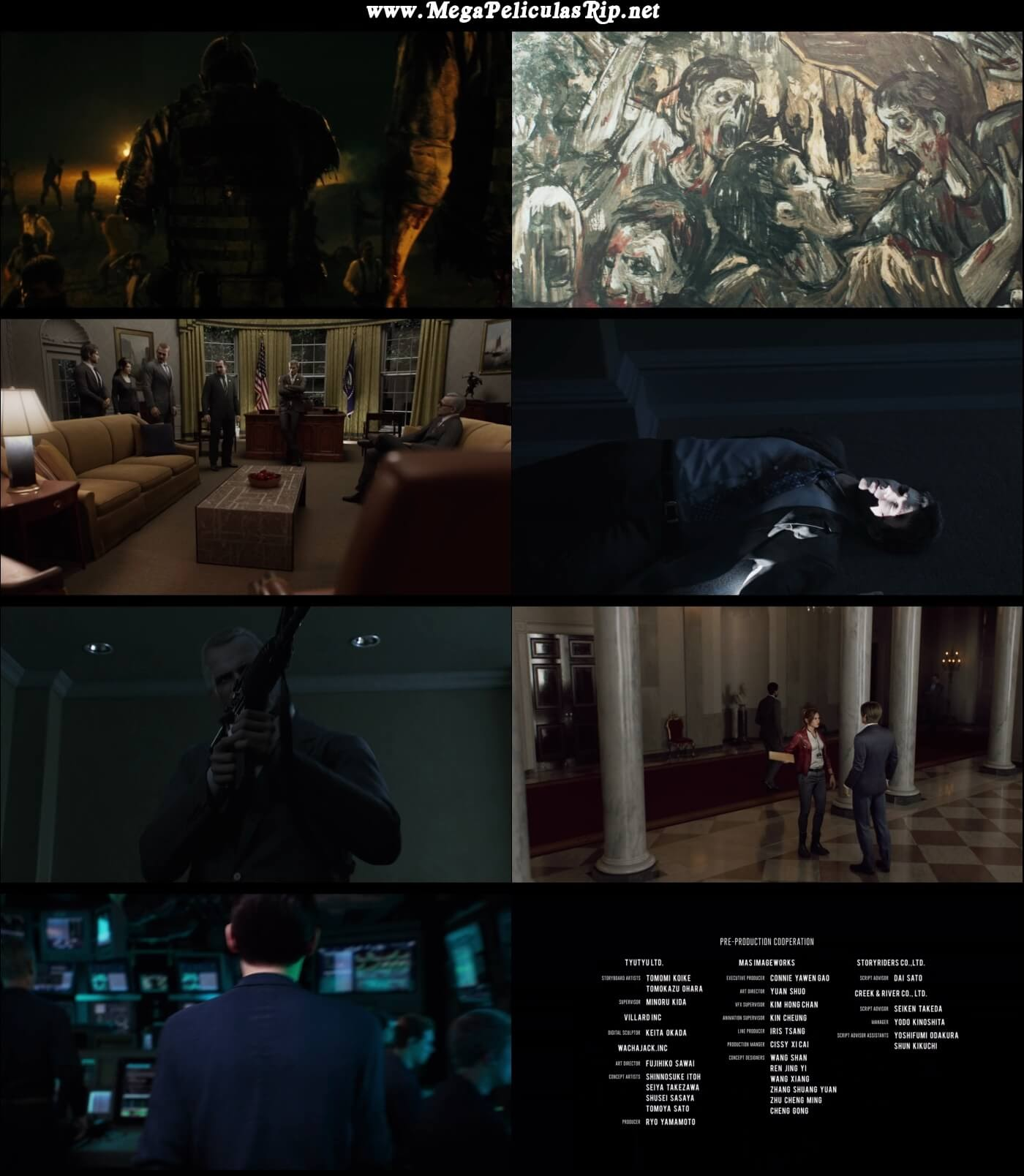 Resident Evil Infinite Darkness Temporada 1 1080p Latino