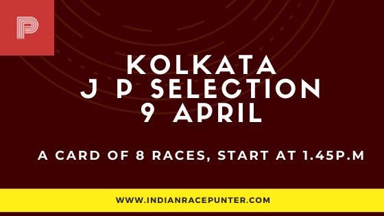 Kolkata Jackpot Selections 9 April