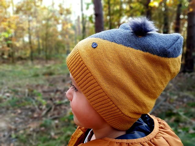 czapki dziecięce jesień zima 2017/2018 - moda dziecięca - las - spacer
