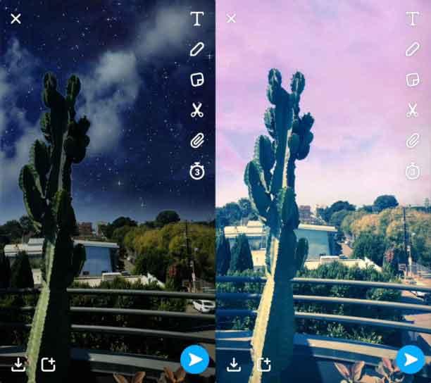 snapchat-sky-filters