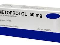 Metoprolol - Kegunaan, Dosis, Efek Samping