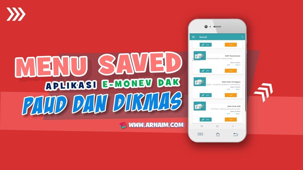 APLIKASI E-MONEV DAK PAUD DAN DIKMAS BERBASIS ANDROID - ARNAIM.COM