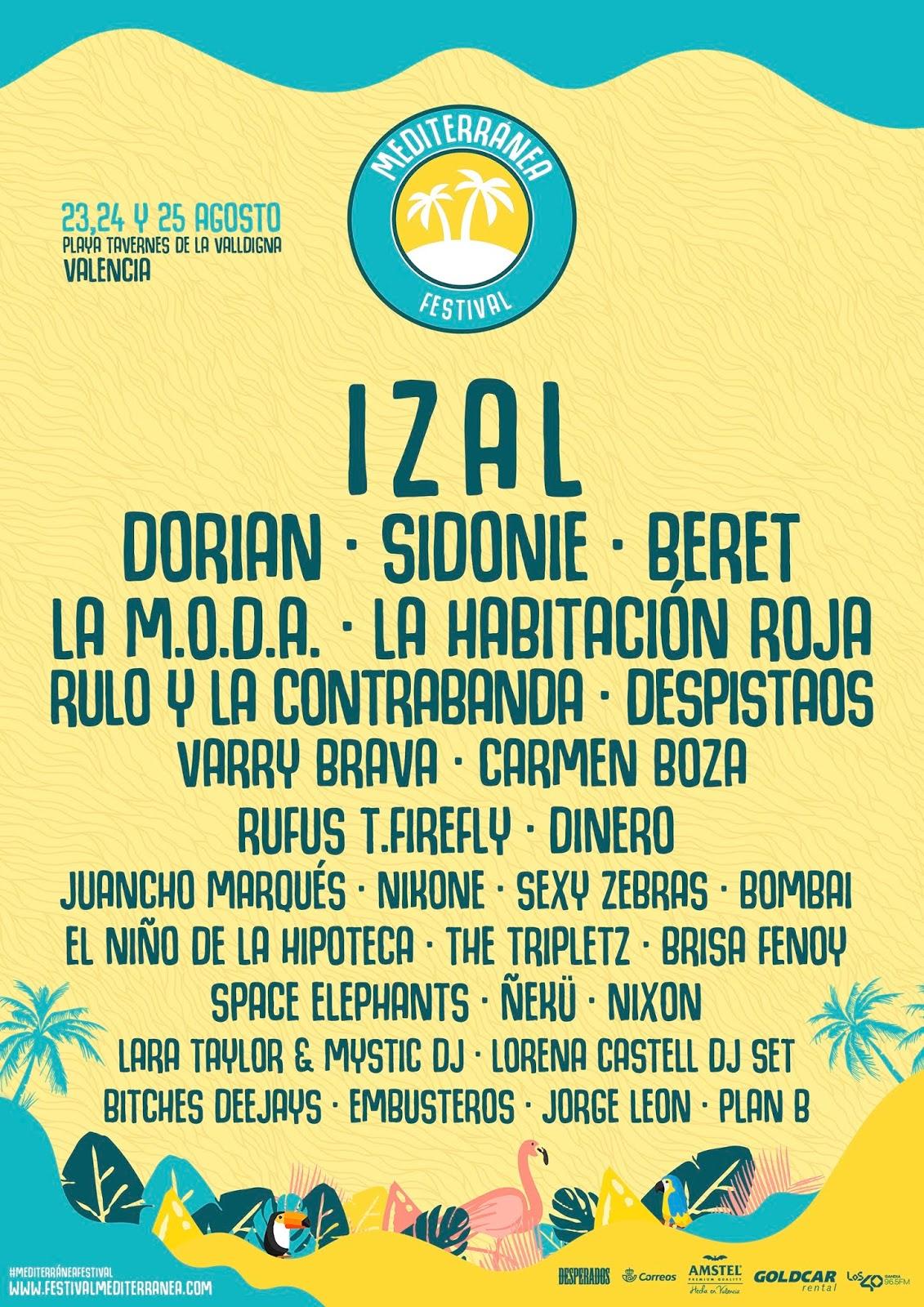 a4cb7e4fe La Voz Telúrica   Noticia  Cartel completo del Mediterránea Festival ...