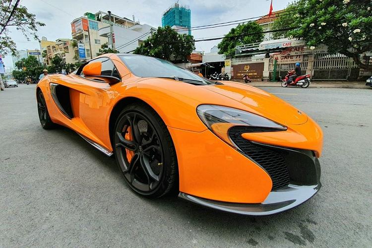 McLaren 650S Spider của Minh Nhựa về tay đại gia Cần Thơ